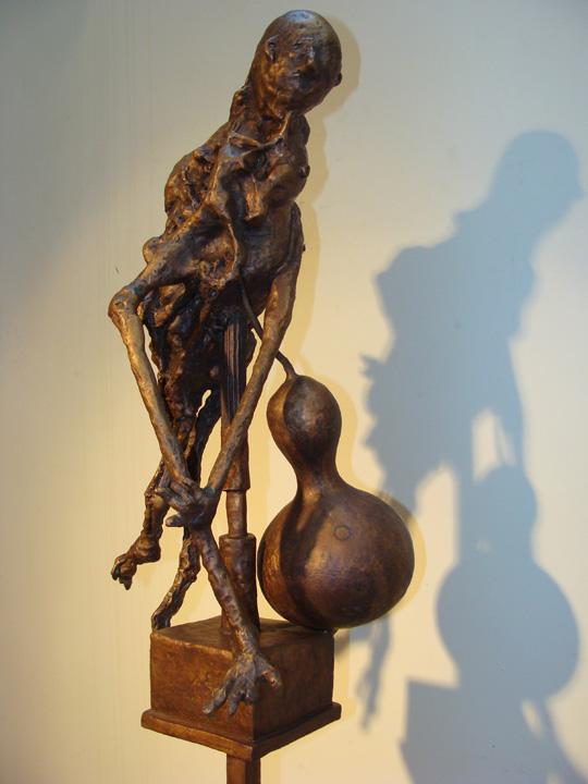 Sjamaan - 2009-2010 - detail - brons