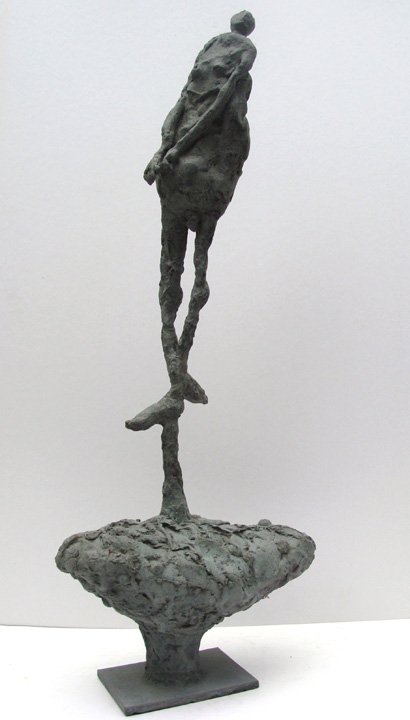 Zoekt evenwicht -2004 - brons