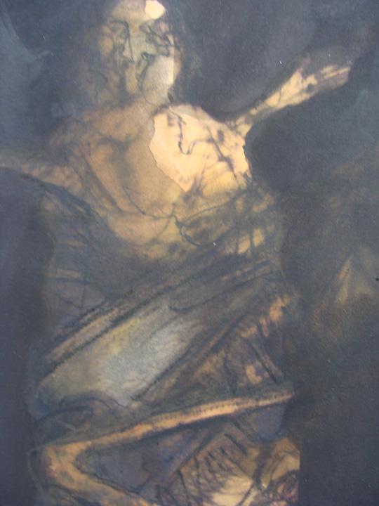 Figuur 2 - aquarel  - detail - 2011