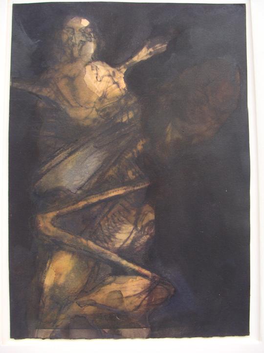 Figuur 2 - aquarel - 2011