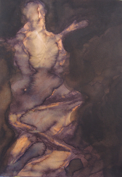 Figuur - aquarel - 2011