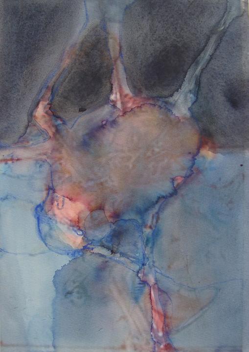 Ikaros - aquarel -detail - 2011