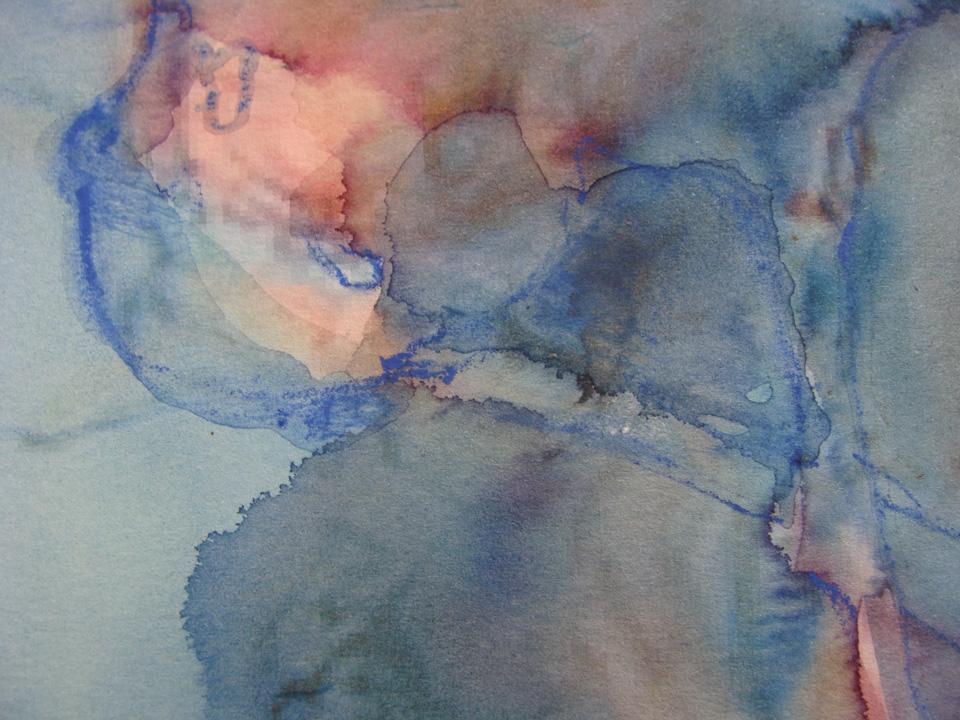 Ikaros - aquarel - detail  -2011