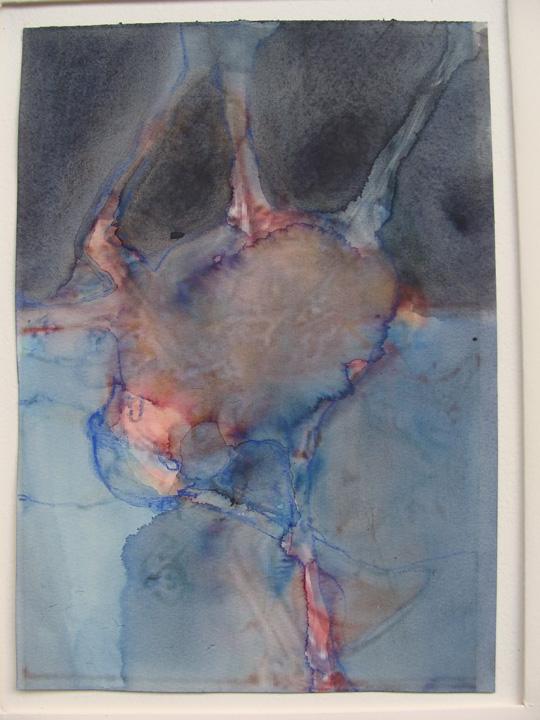 Ikaros - aquarel -2011