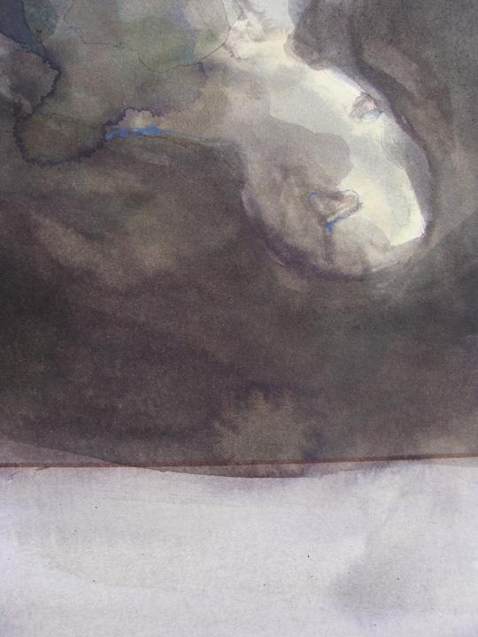 Ikaros 4 - aquarel - detail - 2011