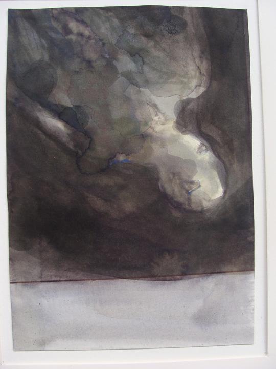 Ikaros 4 - aquarel - 2011