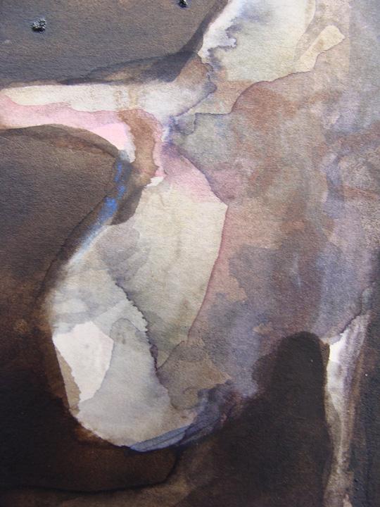 Ikaros 6 - aquarel - detail - -2011