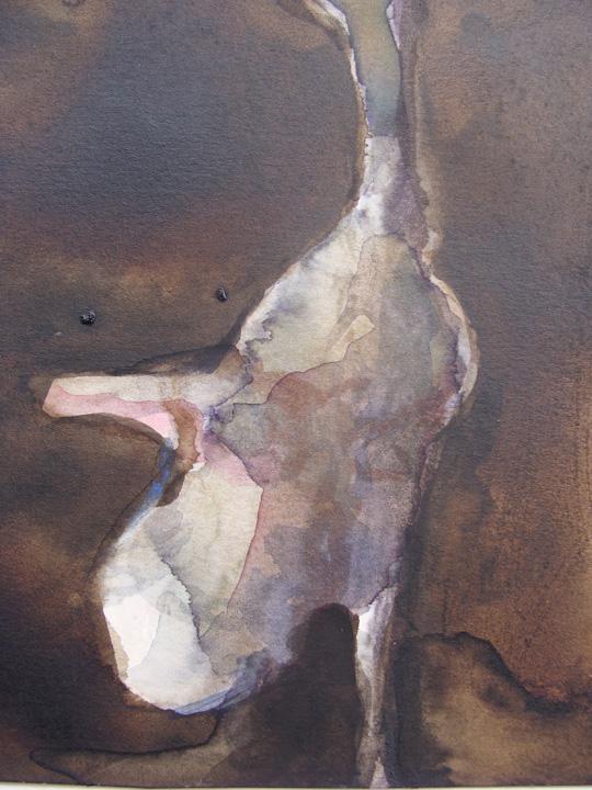 Ikaros 6 - aquarel - detail - 2011