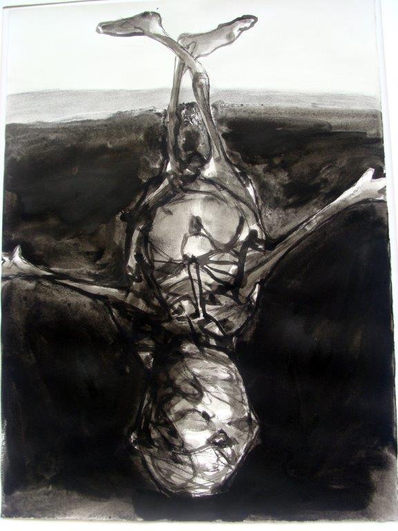 Icarus - lavis - 2010