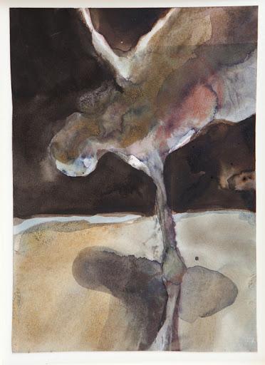 Ikaros 1 - aquarel - 2011