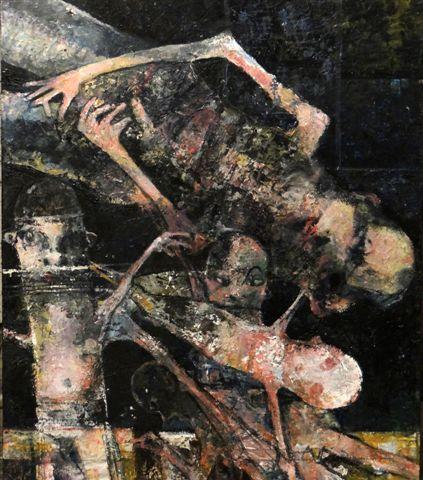 de kinderkamer-2018-acryl op paneel-60x70 cm