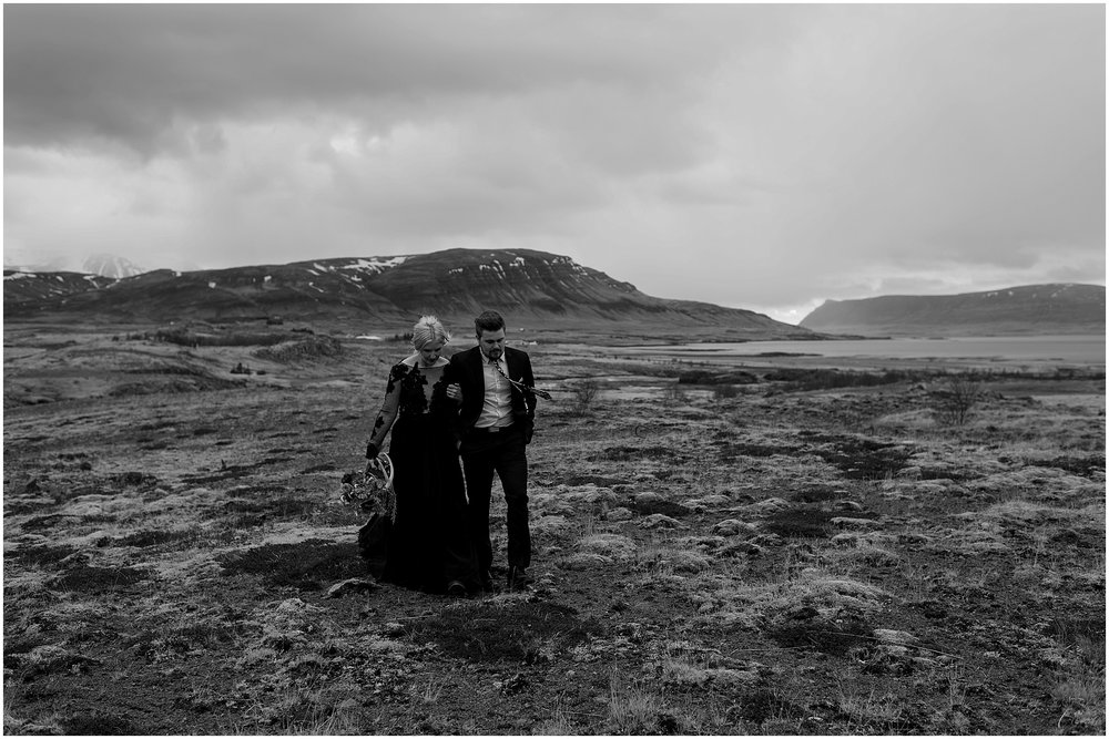 Hannah Leigh Photography Black Wedding Dress Iceland Elopement_2498.jpg