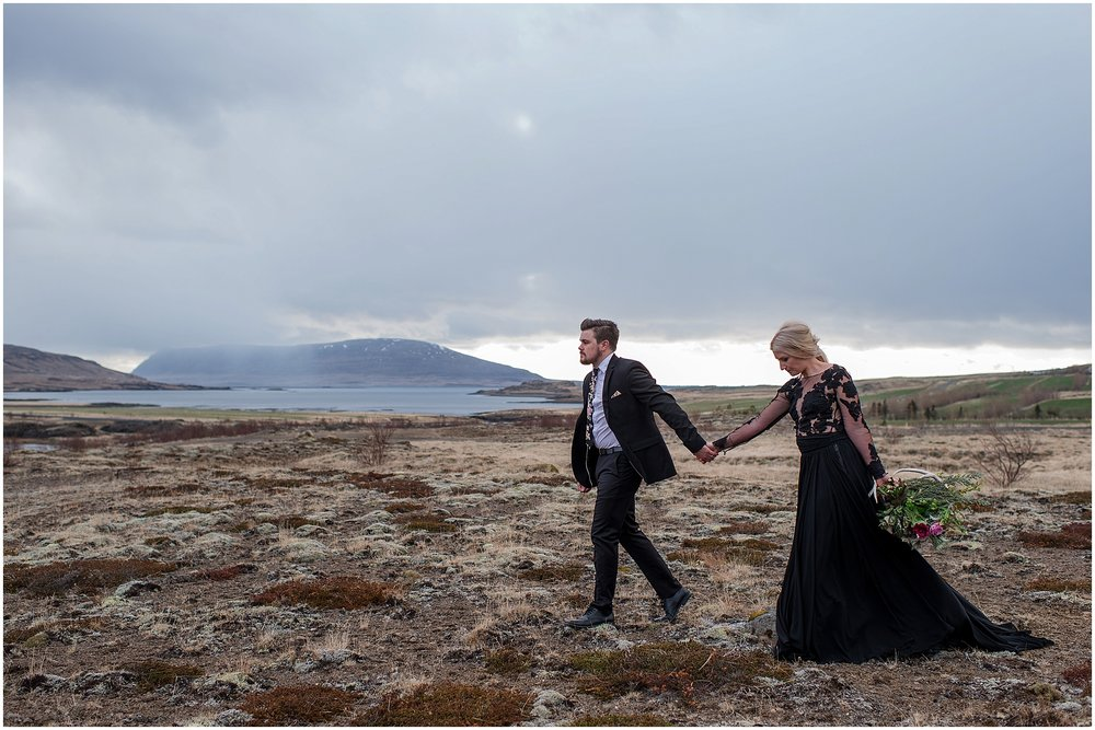 Hannah Leigh Photography Black Wedding Dress Iceland Elopement_2494.jpg