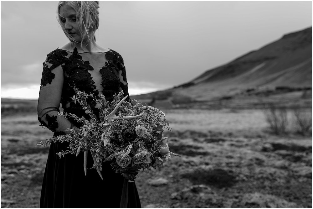 Hannah Leigh Photography Black Wedding Dress Iceland Elopement_2491.jpg