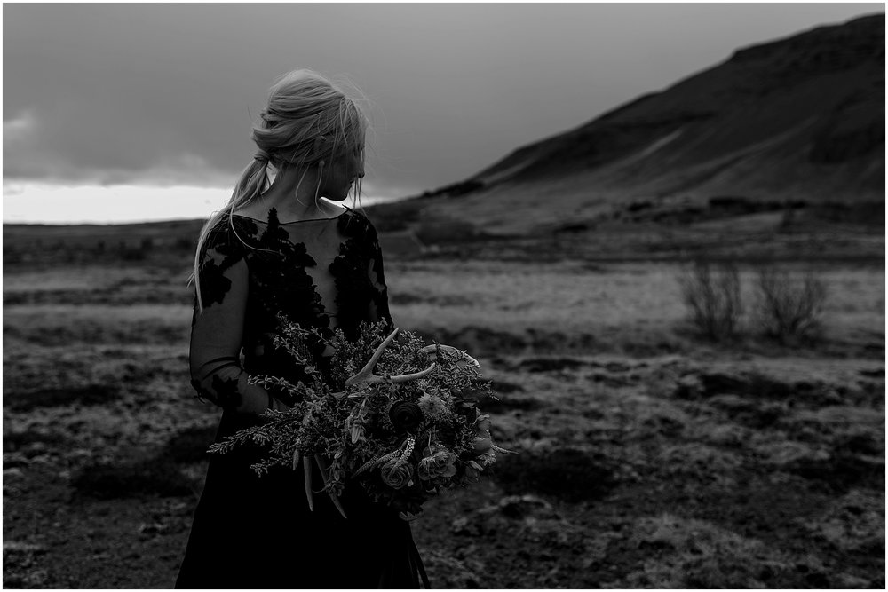 Hannah Leigh Photography Black Wedding Dress Iceland Elopement_2488.jpg