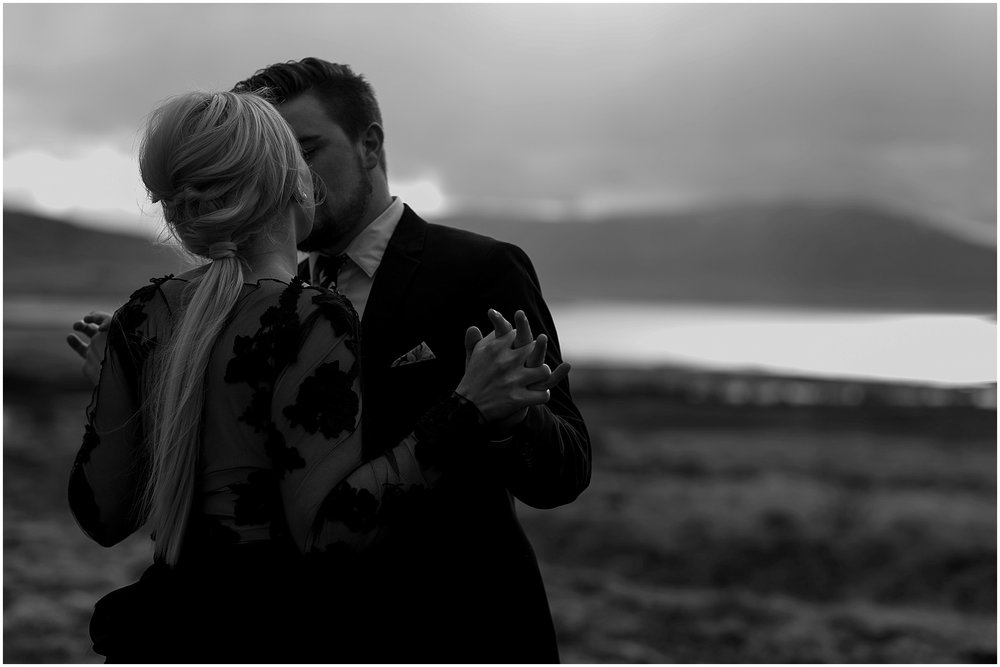 Hannah Leigh Photography Black Wedding Dress Iceland Elopement_2478.jpg