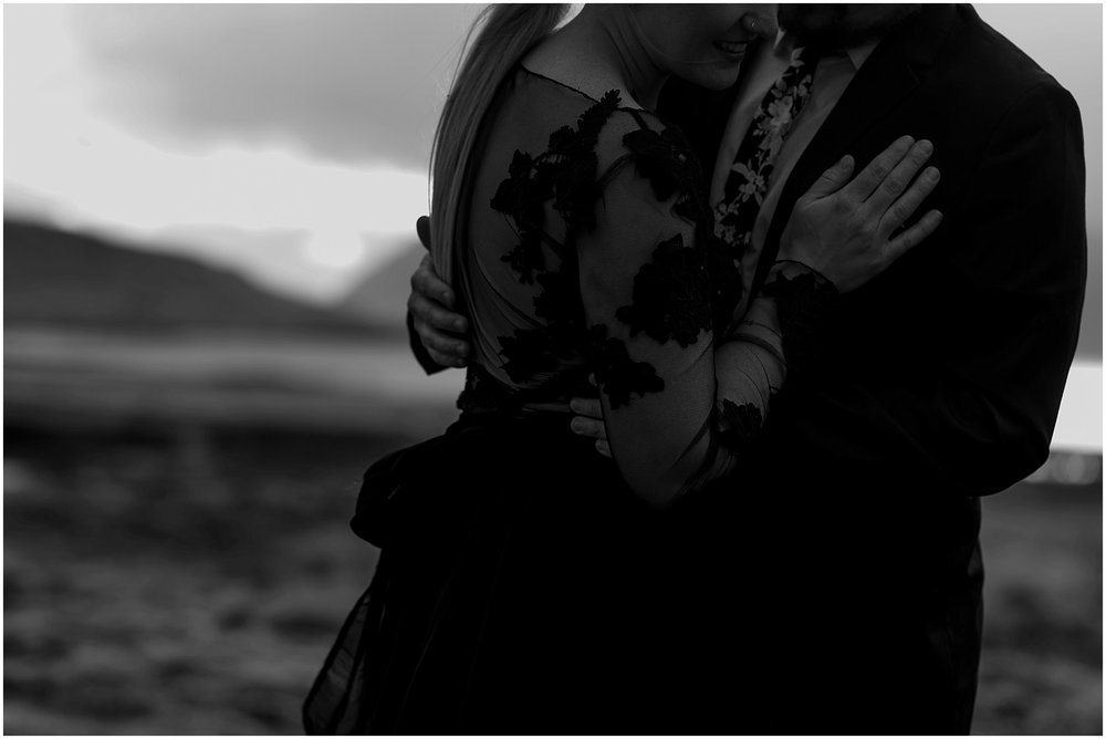 Hannah Leigh Photography Black Wedding Dress Iceland Elopement_2475.jpg