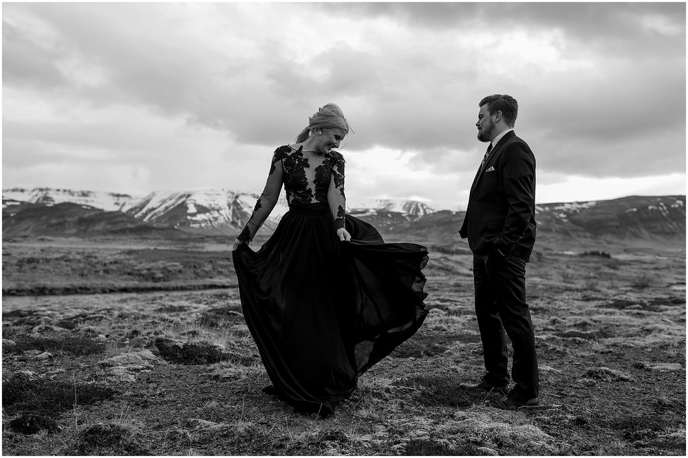 Hannah Leigh Photography Black Wedding Dress Iceland Elopement_2472.jpg