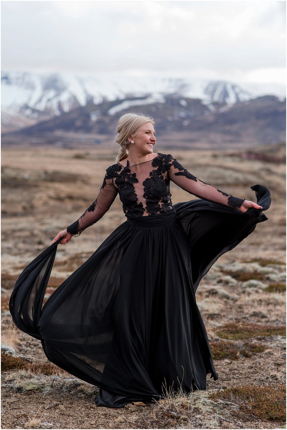 Hannah Leigh Photography Black Wedding Dress Iceland Elopement_2467.jpg