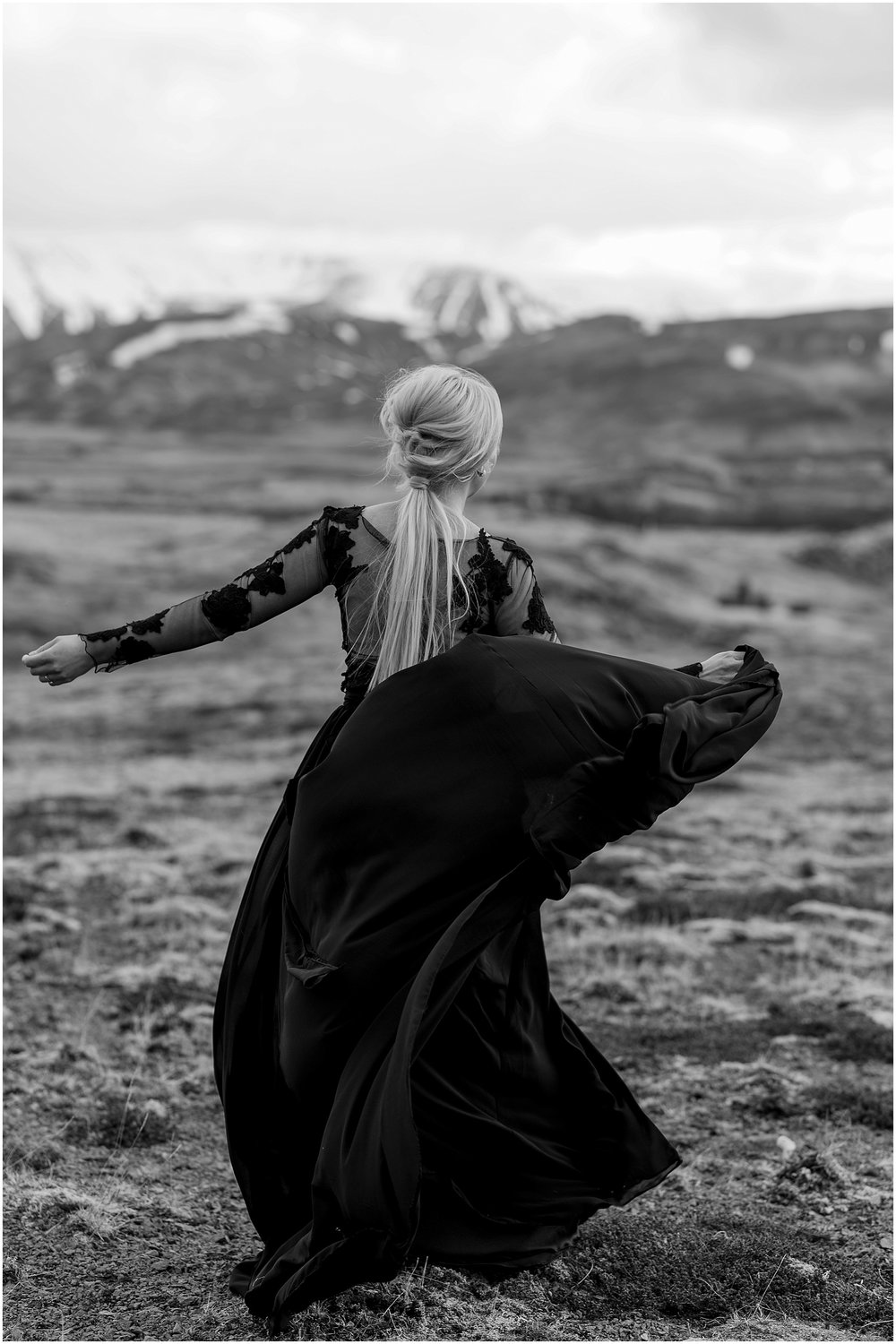 Hannah Leigh Photography Black Wedding Dress Iceland Elopement_2466.jpg