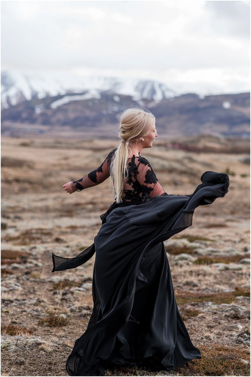 Hannah Leigh Photography Black Wedding Dress Iceland Elopement_2462.jpg