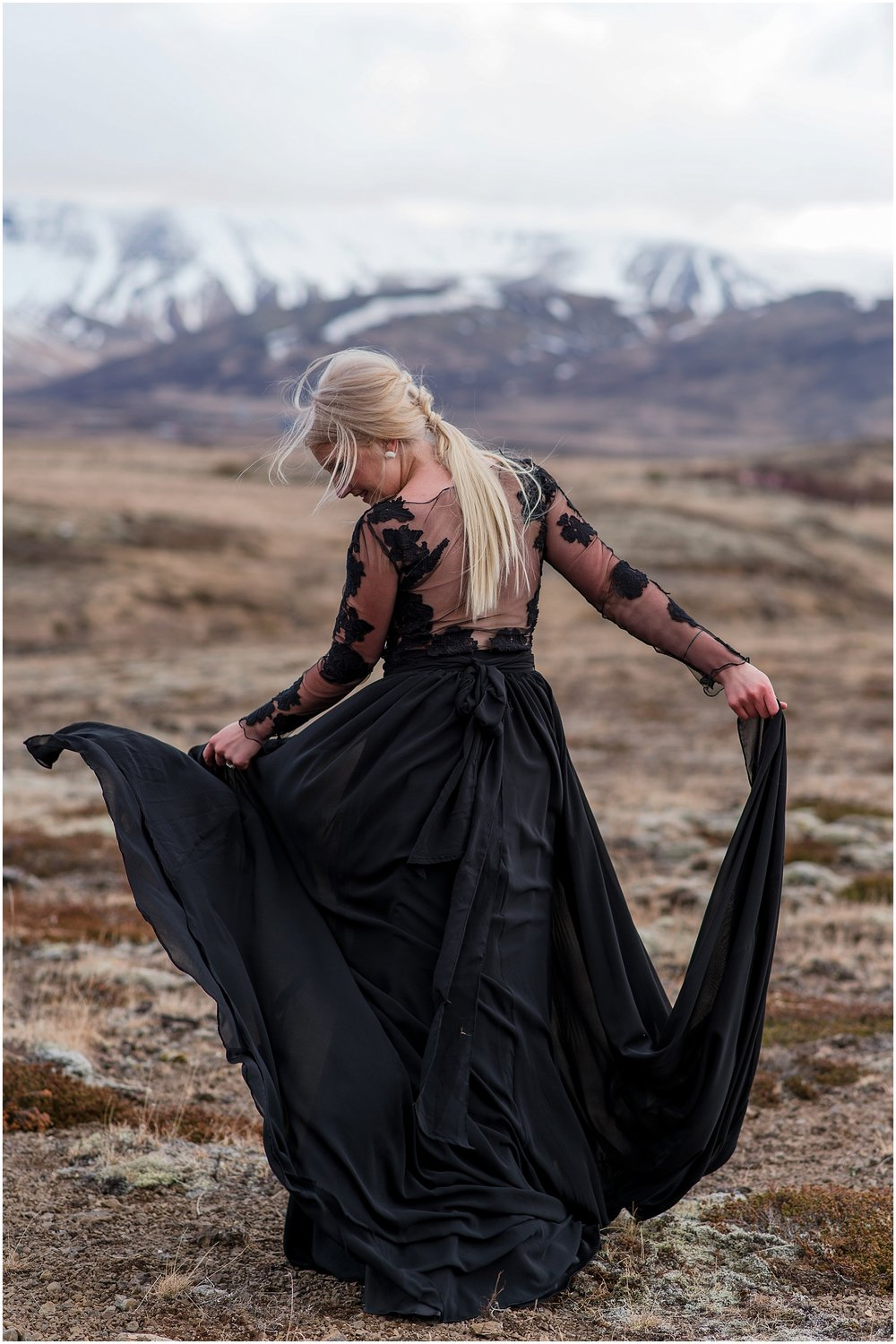 Hannah Leigh Photography Black Wedding Dress Iceland Elopement_2463.jpg