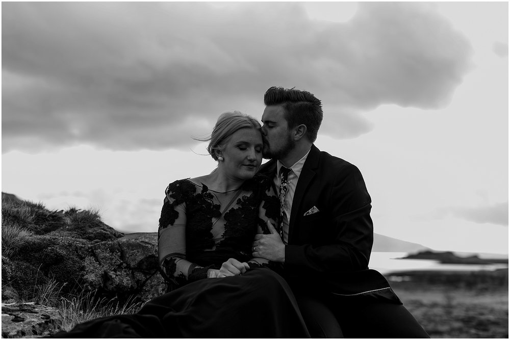 Hannah Leigh Photography Black Wedding Dress Iceland Elopement_2456.jpg