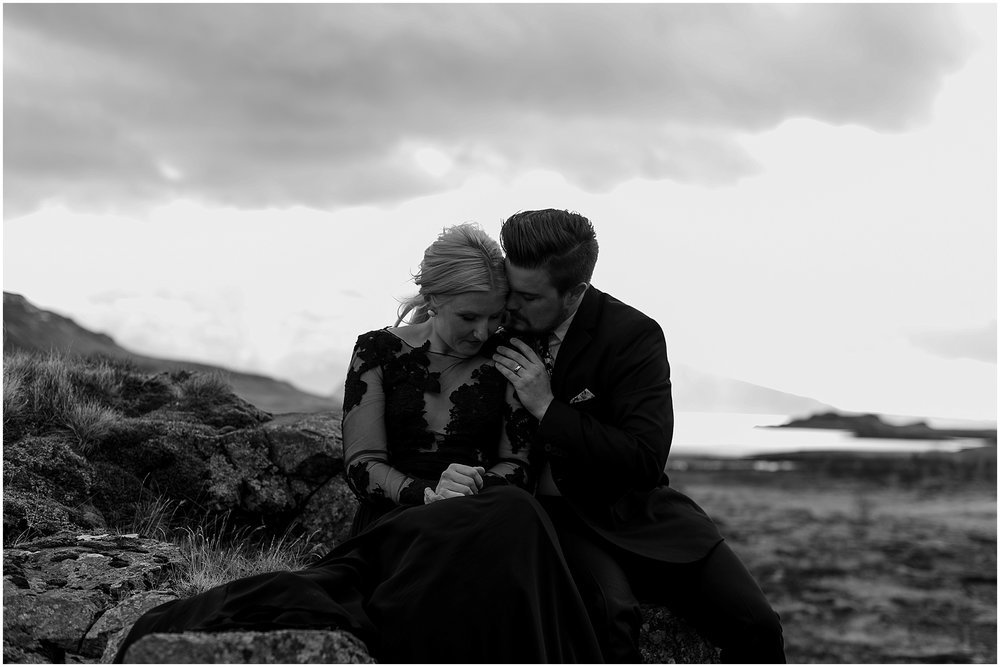 Hannah Leigh Photography Black Wedding Dress Iceland Elopement_2455.jpg