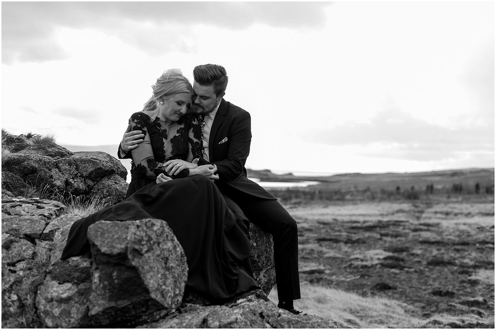Hannah Leigh Photography Black Wedding Dress Iceland Elopement_2452.jpg