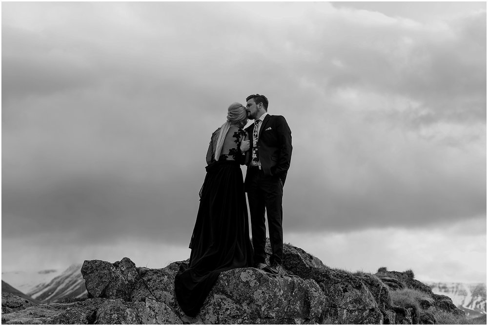 Hannah Leigh Photography Black Wedding Dress Iceland Elopement_2446.jpg
