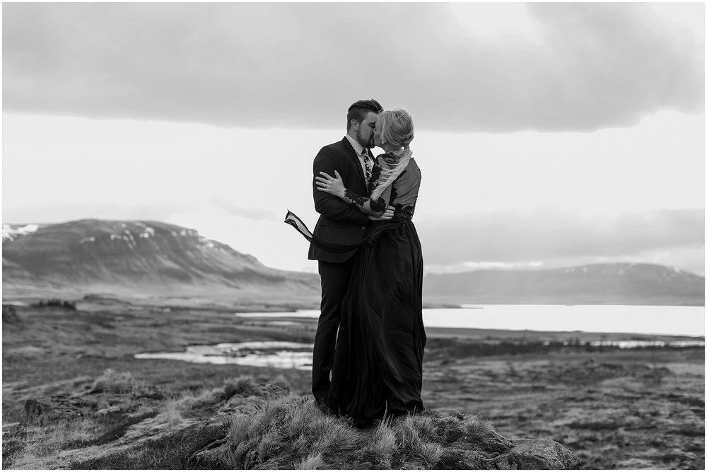 Hannah Leigh Photography Black Wedding Dress Iceland Elopement_2445.jpg