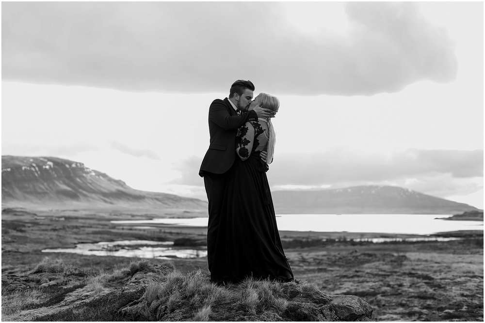 Hannah Leigh Photography Black Wedding Dress Iceland Elopement_2444.jpg