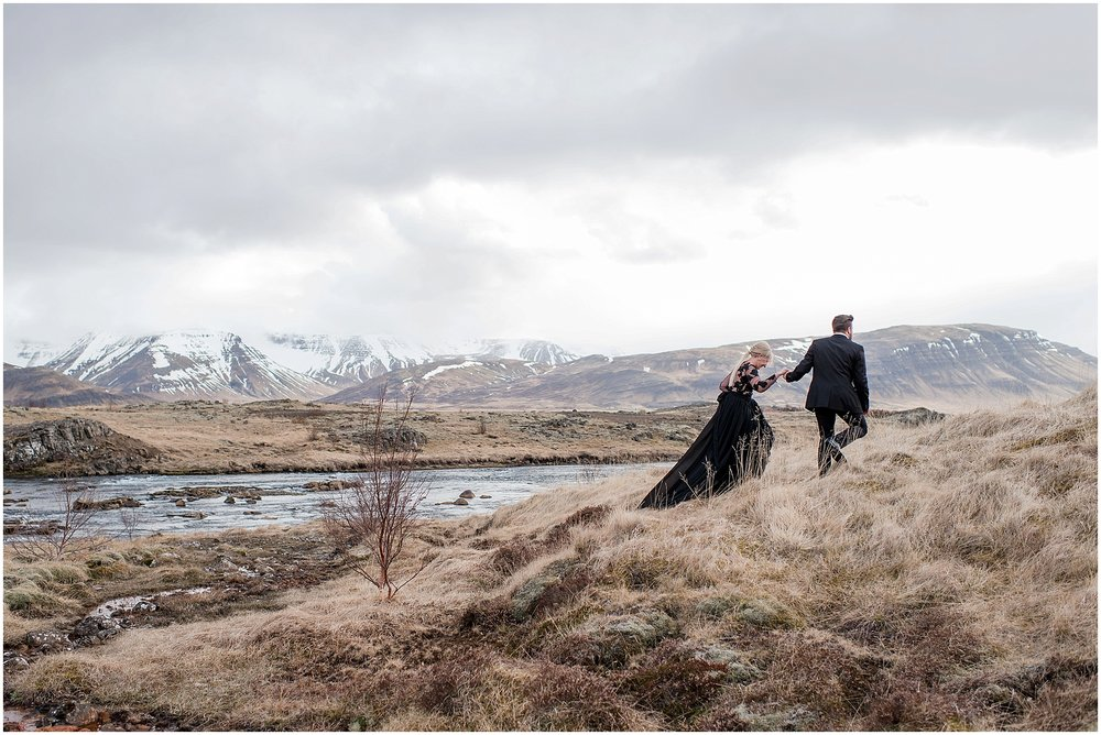Hannah Leigh Photography Black Wedding Dress Iceland Elopement_2440.jpg