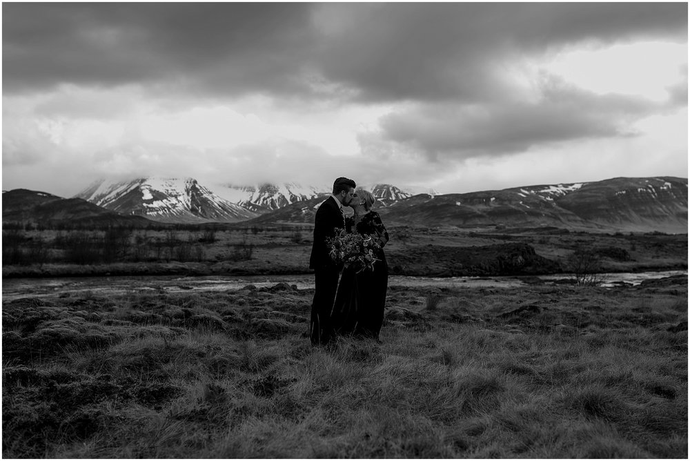 Hannah Leigh Photography Black Wedding Dress Iceland Elopement_2437.jpg