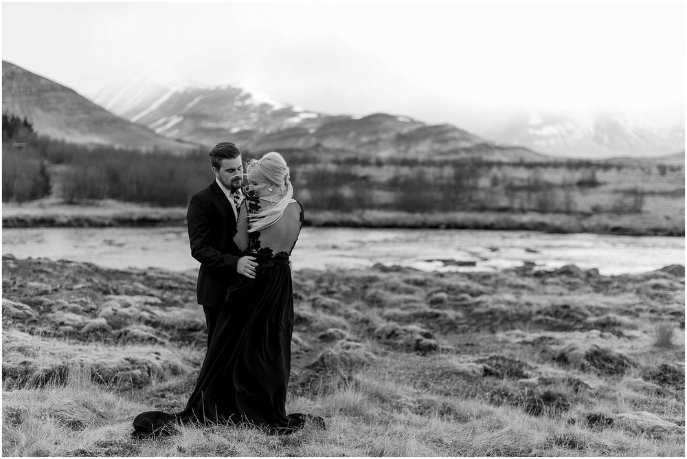 Hannah Leigh Photography Black Wedding Dress Iceland Elopement_2435.jpg