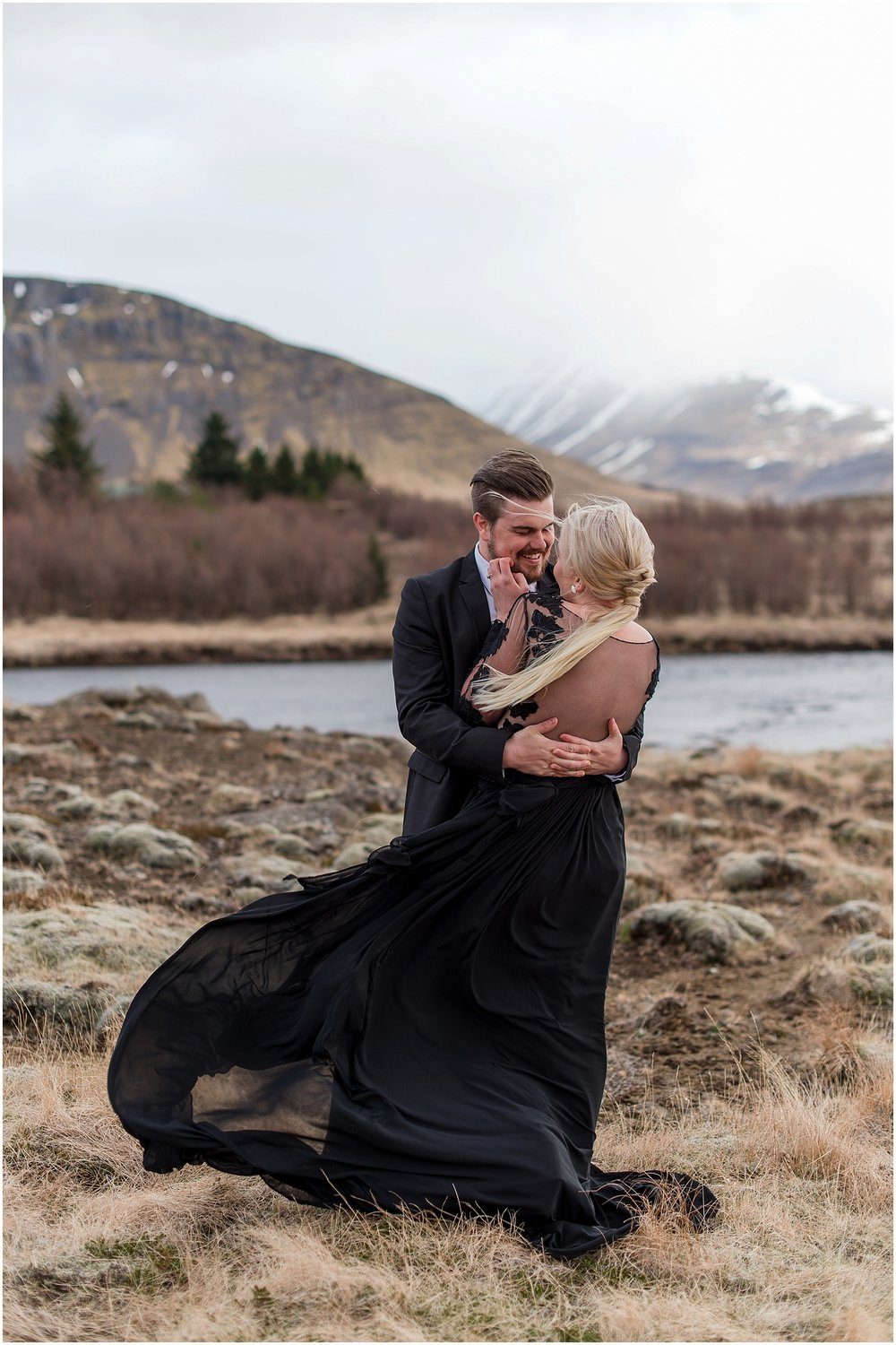 Hannah Leigh Photography Black Wedding Dress Iceland Elopement_2432.jpg