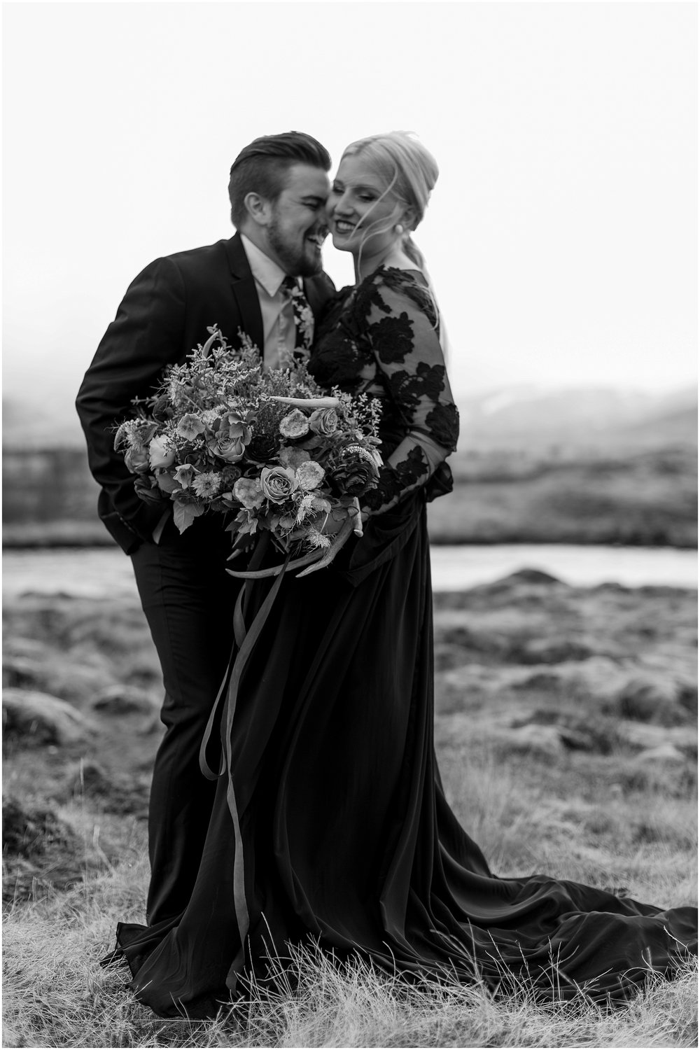 Hannah Leigh Photography Black Wedding Dress Iceland Elopement_2430.jpg