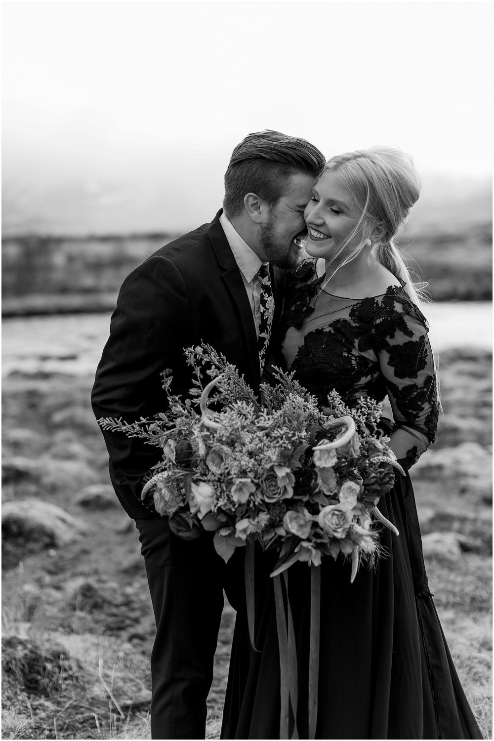 Hannah Leigh Photography Black Wedding Dress Iceland Elopement_2428.jpg