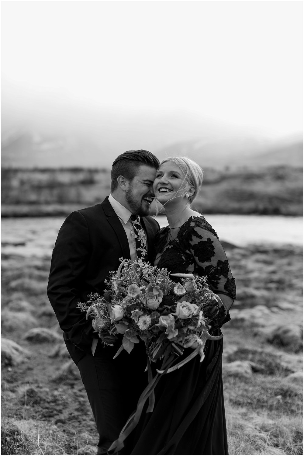 Hannah Leigh Photography Black Wedding Dress Iceland Elopement_2425.jpg