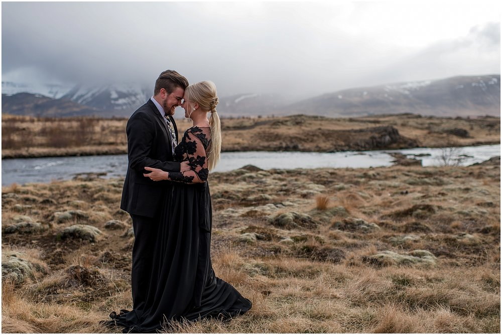 Hannah Leigh Photography Black Wedding Dress Iceland Elopement_2424.jpg