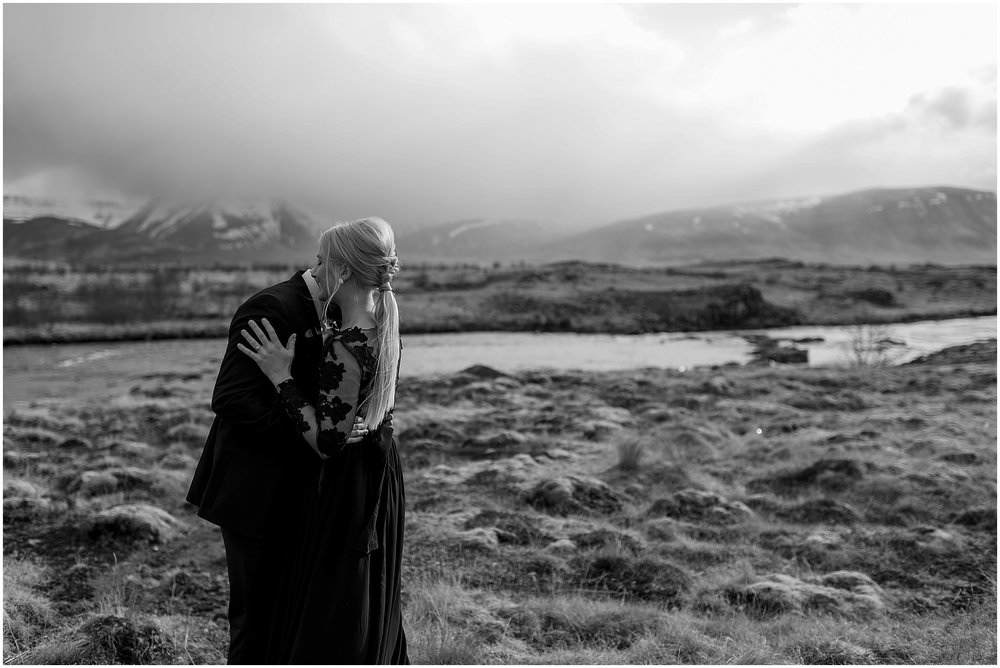 Hannah Leigh Photography Black Wedding Dress Iceland Elopement_2423.jpg
