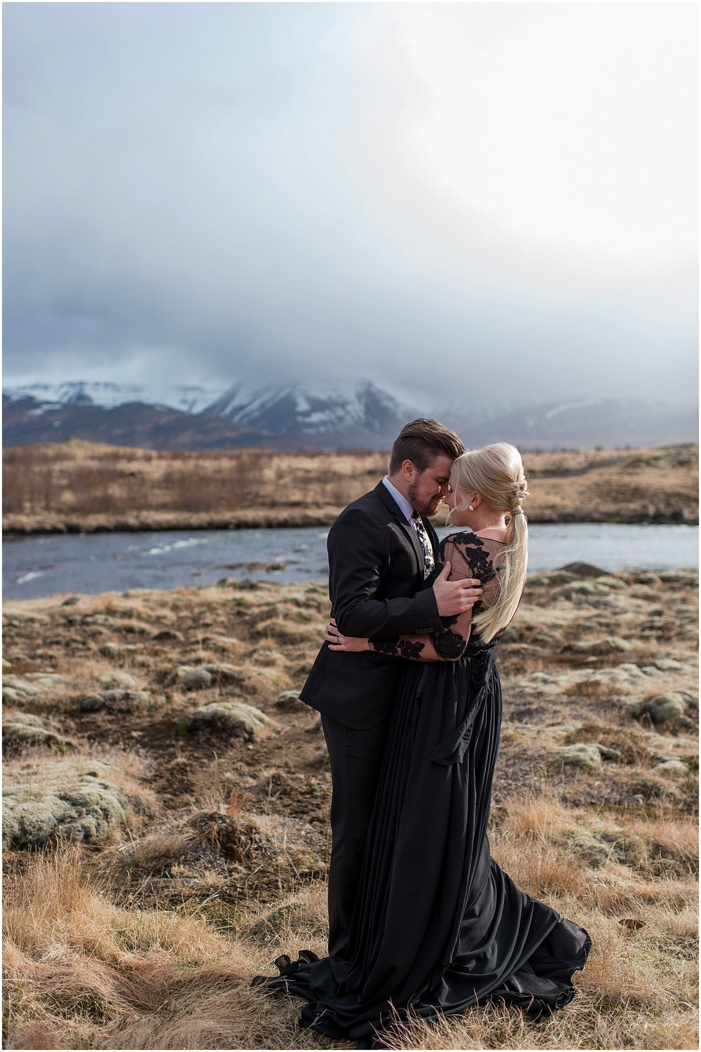 Hannah Leigh Photography Black Wedding Dress Iceland Elopement_2422.jpg