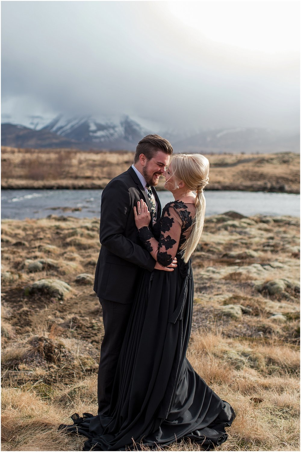 Hannah Leigh Photography Black Wedding Dress Iceland Elopement_2421.jpg