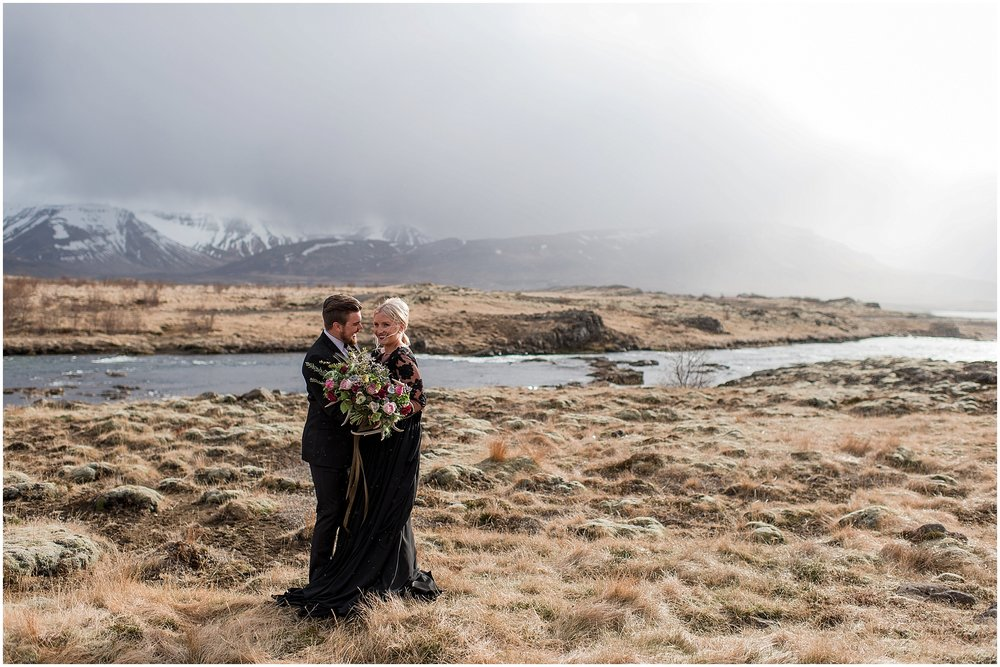Hannah Leigh Photography Black Wedding Dress Iceland Elopement_2417.jpg
