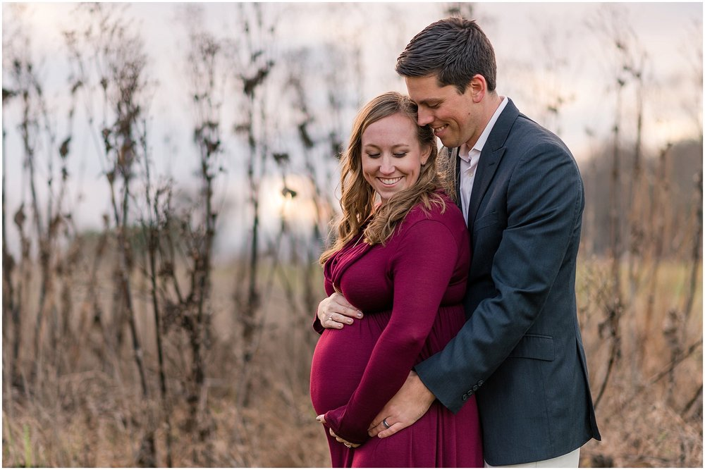 Hannah Leigh Photography Winter Maternity Towson MD_2757.jpg