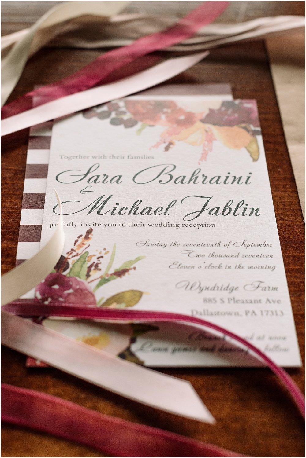 Michael + Sara\'s Wyndridge Farm Wedding: York, PA — Hannah Leigh ...