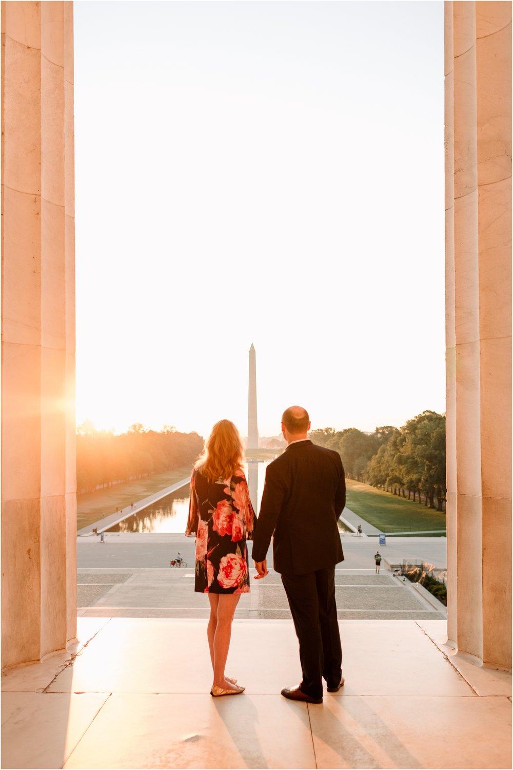 hannah leigh photography Sunrise Jefferson Memorial Engagement Session, Washington DC_1046.jpg