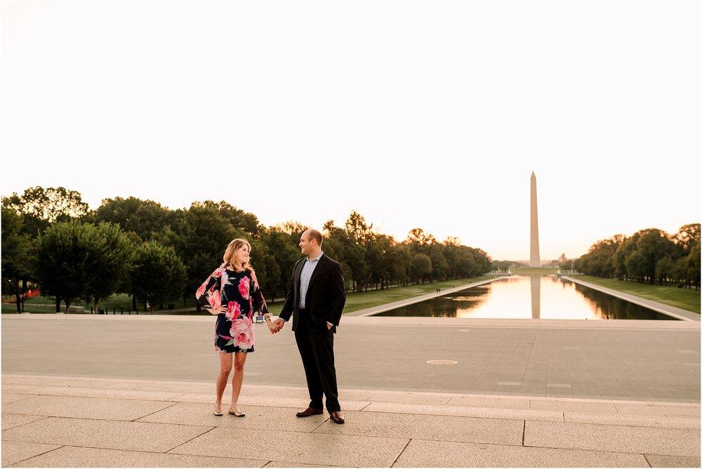 hannah leigh photography Sunrise Jefferson Memorial Engagement Session, Washington DC_1037.jpg