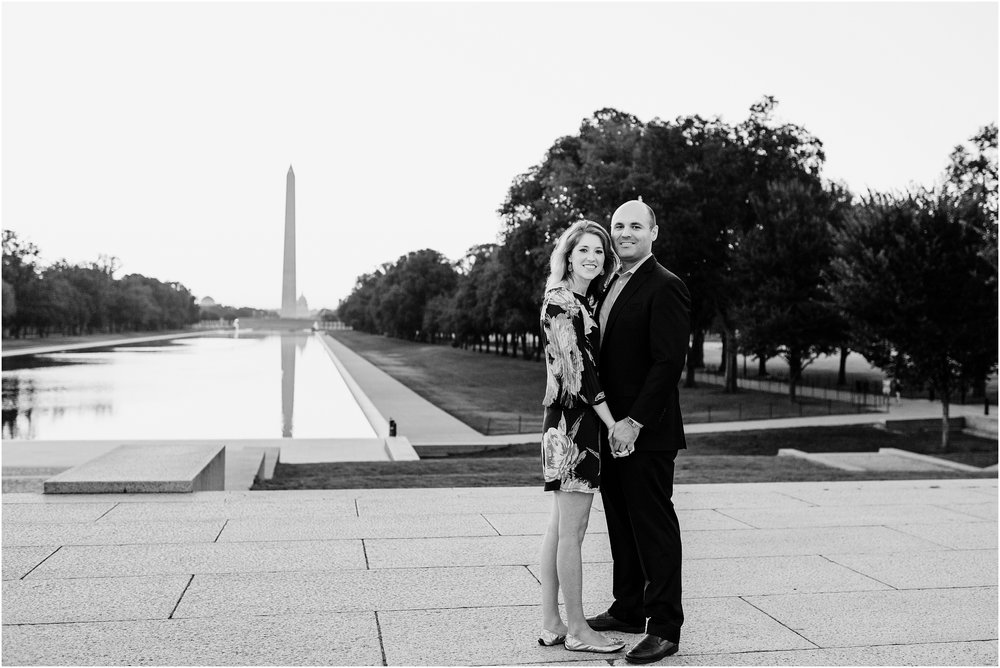 hannah leigh photography Sunrise Jefferson Memorial Engagement Session, Washington DC_1023.jpg