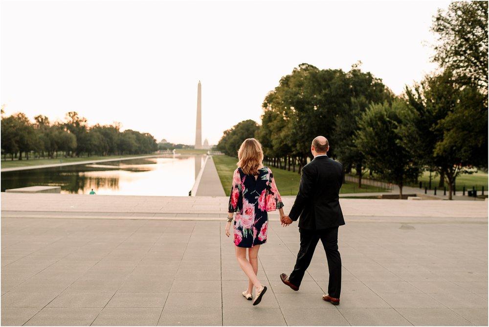 hannah leigh photography Sunrise Jefferson Memorial Engagement Session, Washington DC_1022.jpg